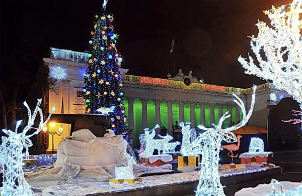 Новогодний тур в Одессу 2017