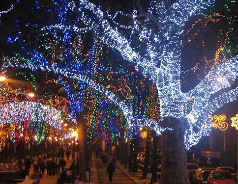 Новый год Одесса