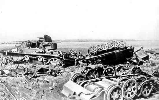 Танковое сражение в районе Луцк-Броды-Ровно