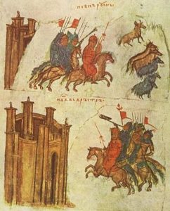 Успехи Святослава на востоке