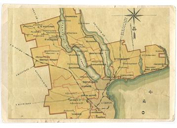 old map odessa - Об Одессе